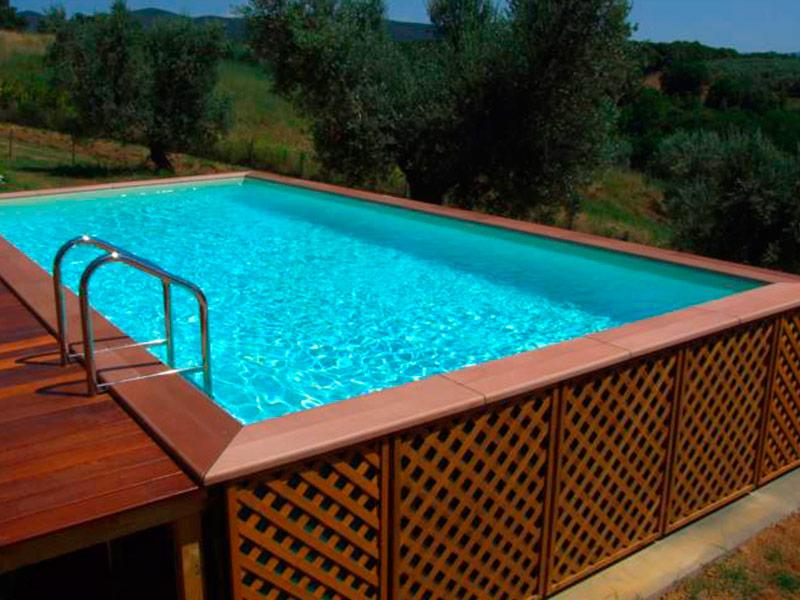 Piscine vendita installazione e realizzazione piscine - Piscine rigide fuori terra ...